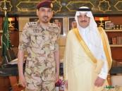 """سمو """"الأمير سعود بن نايف"""" يُقلّد """"الدعجاني"""" رتبته الجديدة"""