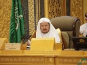 """""""رئيس الشورى"""" يؤكد رفض المملكة لـ""""الدولة القومية لليهود"""""""