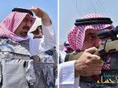بالصور… أمير نجران بين وحدات القناصة وكمائن الرصد بالحد الجنوبي
