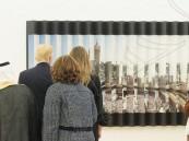 شاهد.. صورة الحرم المكي التي أدهشت ترامب وزوجته!