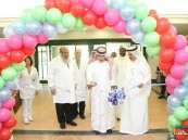 """""""الطب الوقائي ومكافحة العدوى"""" بمستشفى """"الملك عبدالعزيز"""" يقيم فعاليات نظافة اليدين"""