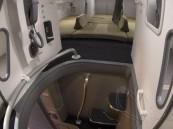 بالصور .. أسرار نوم المضيفات والطيارين على متن الطائرات