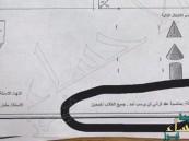 بالصورة.. معلم سعودي لطلابه: بمناسبة عقد قراني لن يرسب أحد !