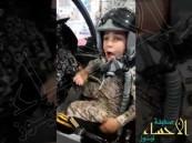 على متن طائرة مقاتلة.. فيديو جديد لـ شاعر الحزم الصغير يؤكّد تعافيه برسالة قوية