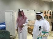 المساعد التعليمي والمشرف العام لنظام المقررات في زيارة لثانوية الملك خالد