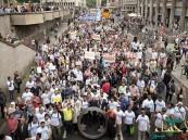 مسيرة إسلامية للسلام ورفض الإرهاب في كولونيا