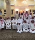 جماعة مسجد الحويفظية يحتفلون بعيد الفطر المبارك