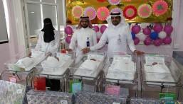 المواليد الإناث يفقن المواليد الذكور في اول ايام عيد الفطر في مستشفى الولادة في #الأحساء