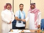 """بالصور .. النهضة يوقع مع المدرب الوطني """"سعد الشهري """" لقيادة الفريق الأول بدوري الدرجة الأولى"""