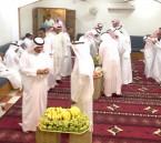 أسرة السلطان تستقبل المهنئين بعيد الفطر المبارك بالقرين