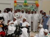 مركز التأهيل الشامل للذكور بالأحساء يحتفل بالعيد مع أبنائه المقيمين