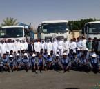 بالصور.. تدشين مشروع النظافة لمدينة العيون وتوابعها بأكثر من 53 مليون ريال