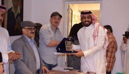"""بالصور.. """"الدقيل"""" يشارك في الملتقى السعودي المصري الأول للفنون التشكيلية"""