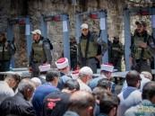 مصادمات بين فلسطينيين وقوات الاحتلال عند المسجد الأقصى