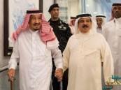 ملك البحرين يشيد بمساعي خادم الحرمين في إلغاء القيود على المسجد الأقصى