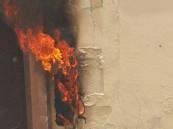 """بالصور… حريق """"عداد"""" كاد أن يُشعل منزلاً في عيون #الأحساء !!"""
