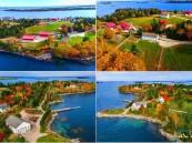 جزيرة في أمريكا للبيع مع 3 منازل بأقل من 8 ملايين دولار !