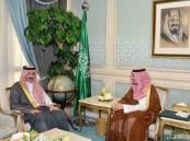 نائب أمير المنطقة الشرقية يستقبل محافظ الأحساء