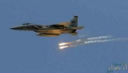 """""""التحالف العربي"""" يدمر مستودعًا لأسلحة المليشيات الانقلابية في ميدي"""