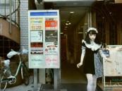 شاهد.. أول دُمية بشرية تتجول في شوارع اليابان وتذهل المارة !!