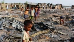 """تعرّف عليها.. هذه أبرز المشاهد المأساوية للفارين من """"مجازر ميانمار"""""""