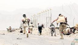 الجيش اليمني يحرر عدة مواقع في جبهة حرض