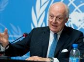 """دي ميستورا يدعو إلى عملية سياسية """"جديدة"""" بشأن سوريا"""