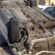 حادث كارثي وانقلاب سيارة معلمة 4 مرات على طريق خريص الأحساء !!