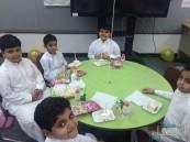 عمار بن ياسر الإبتدائية تستقبل طلابها الجدد بحفل بهيج