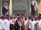 """في 60 صورة … حشد ضخم من """"آل مرة"""" في الأحساء دعماً لـ #الشيخ_طالب_بن_شريم"""