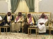 """بالصور.. الشيخ """"بن علمان"""" يحتفي بمحافظ """"الدوادمي"""" ومحامي المعتقل""""الدوسري"""""""