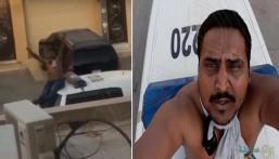 بالفيديو … شرطة الرياض توضح ملابسات مقطع تعدي مقيم على دورية