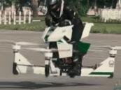 """بالفيديو..  شاهد """"الشرطي الطائر"""" في شوارع دبي"""