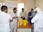 مديرية الزراعة في #الأحساء تحصن موظفيها بلقاح الانفلونزا الموسمية