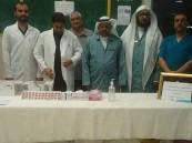 """""""شتاء آمن"""" حملة تحصين ضد الإنفلونزا الموسمية بمركز """"التأهيل الشامل"""""""