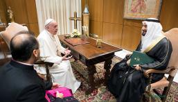 بابا الفاتيكان لوفد سعودي: أقدر دور خادم الحرمين في تحقيق السلام