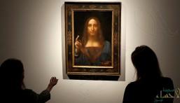 لوحة لدافينشي تباع في مزاد بمبلغ خيالي !!