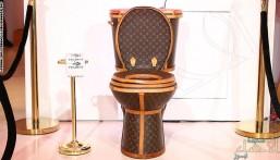 """بالصور… لن تتخيل مما صنع هذا المرحاض """"الفاخر"""".. وكم يبلغ سعره!"""