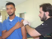 حملة التحصين ضد الانفلونزا الموسمية… بصناعي الأحساء الثالث