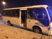 البحرين تعلن القبض على متهم بتنفيذ تفجير حافلة نقل الشرطة وهروب شريكه الثاني إلى #إيران