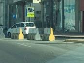 """بالصور… لوحات """"الطريق مراقب بالكاميرا"""" تملأ شوارع #الأحساء"""