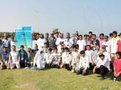 """بالصور.. ١٢٠ طالب يشاركون بالملتقى التربوي لتعليم الأحساء في """"شاطئ العقير"""""""