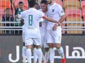 شاهد ملخص المباراة .. الأهلي يكسب القادسية بثلاثة أهداف دون مقابل