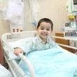 """الابتسامة تعود للطفل"""" حمزة بعد تدخل جراحي في """"الموسى"""" التخصصي"""