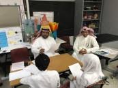 """ابتدائية """"صلاح الدين الأيوبي"""" تحتضن فعاليات مسابقة """"اللغة العربية"""" بتعليم الأحساء"""