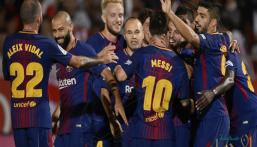 """برشلونة يخوض مهمة البحث عن """"+11"""" في مباراة لا كرونا"""