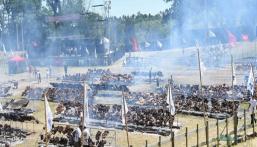 بالصور.. أكبر حفل شواء في العالم يدخل موسوعة جينيس
