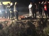 بالصور … وفاة شخص غرقاً في مصرف زراعي وإنقاذ آخر بالأحساء