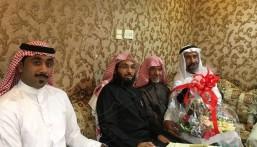 """بالصور… أسرة """"الحميط"""" تحتفي بعقد قران """"عمر"""""""