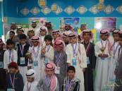 افتتاح معرض الرياضيات في ابتدائية عبدالرحمن الغافقي بالحرس الوطني